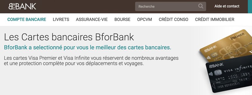 carte bforbank