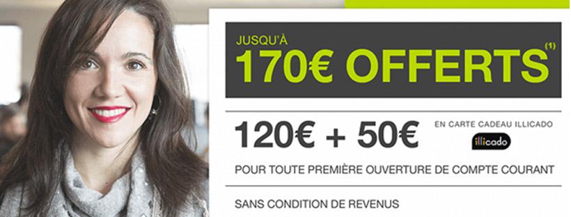170 euros offerts Monabanq