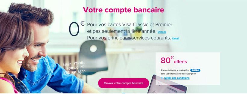 Boursorama Banque première france