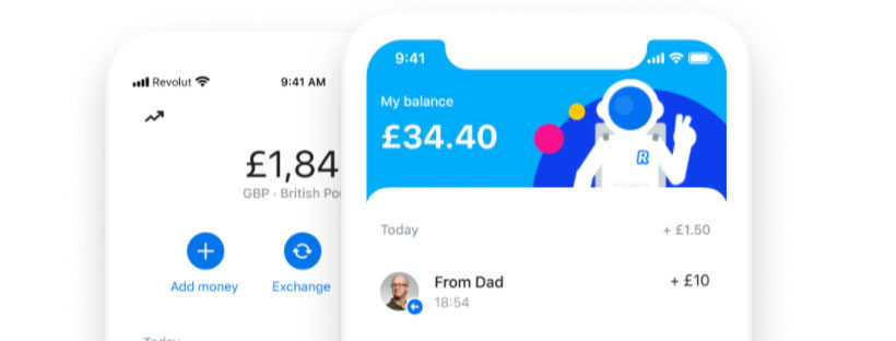 Revolut Junior app